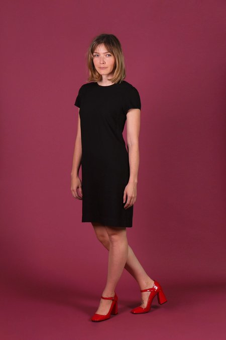 Birds of North America Petrel Dress - Black