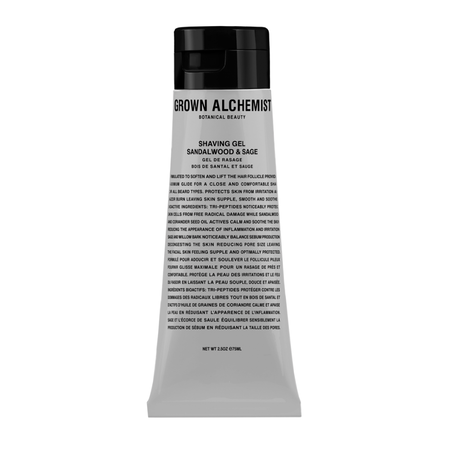 Grown Alchemist Shaving Gel Sandalwood & Sage - 75ml