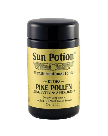 Sun Potion Mason Pine Pollen Wildcrafted - 33g Jar