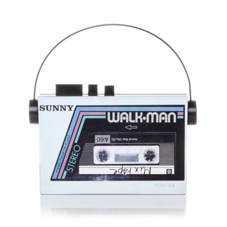 Sarah's Bag Walkman - White