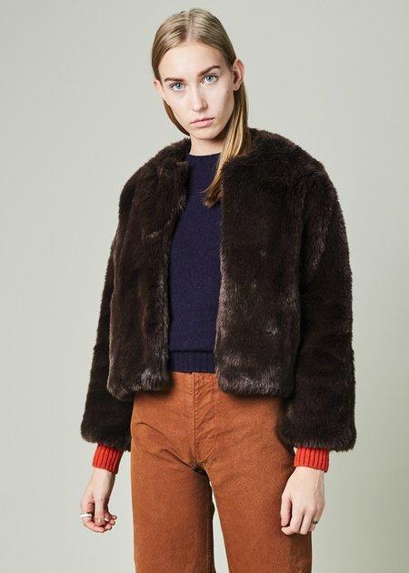 Nico Teddy Bear Shrug Jacket