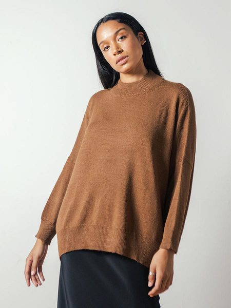 Pari Desai Inez Oversized Sweater in Ginger