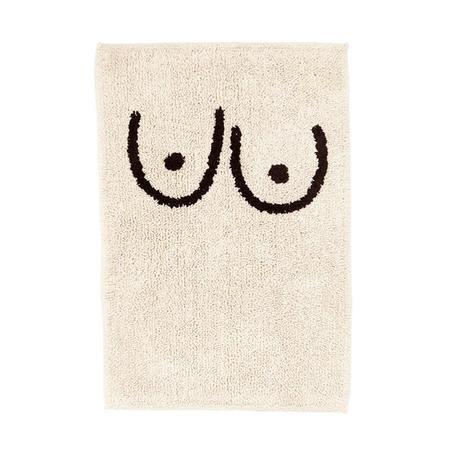 Cold Picnic Bath Mat - Boob / Torso