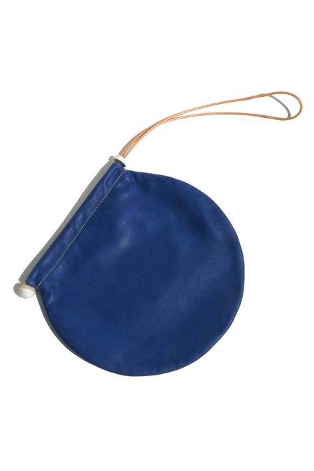 jujumade circle tote - royal blue