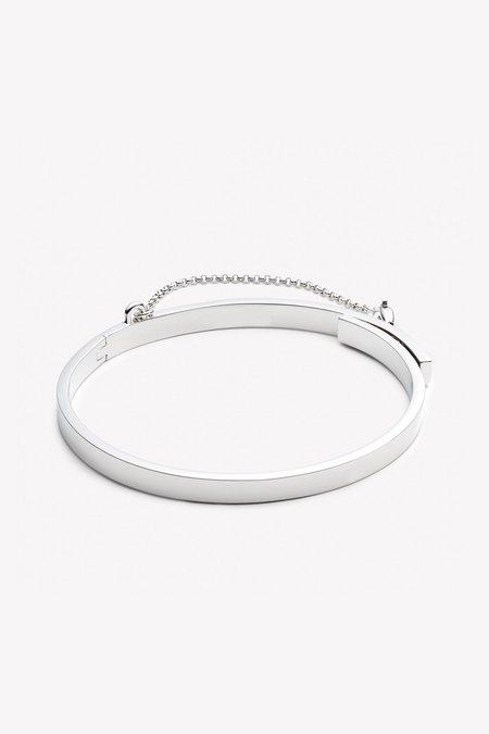 Eddie Borgo Extra Thin Safety Chain Bracelet