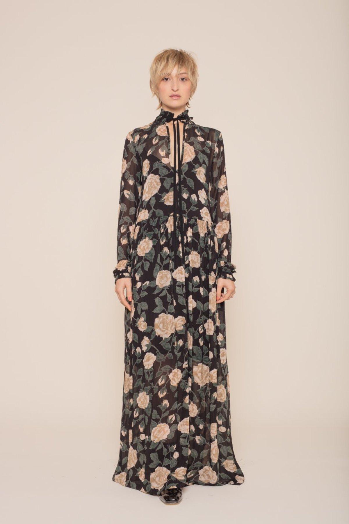 209a9706 Ganni Carlton Georgette Maxi Dress | Garmentory
