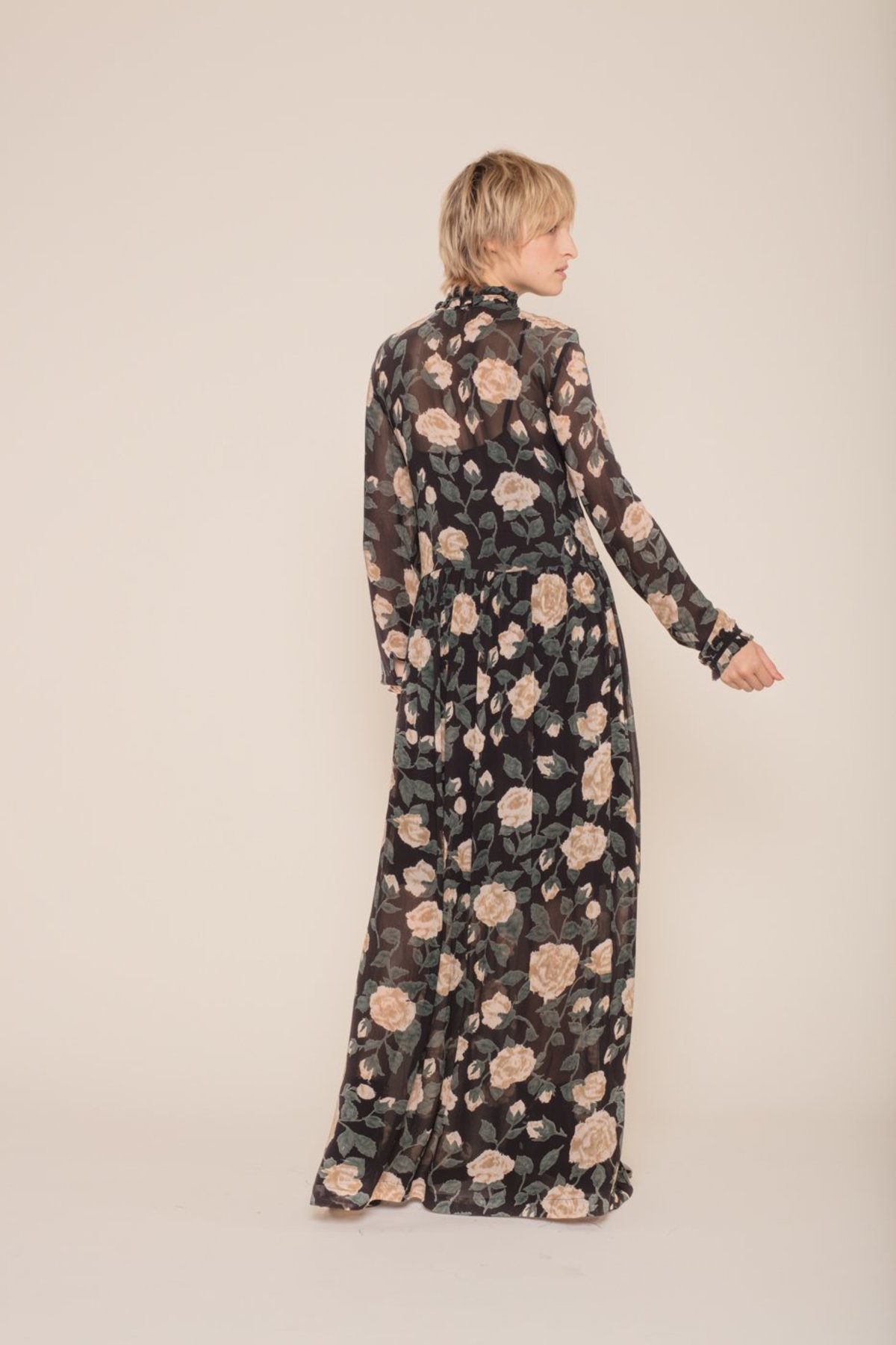 efb09fb7 Ganni Carlton Georgette Maxi Dress | Garmentory