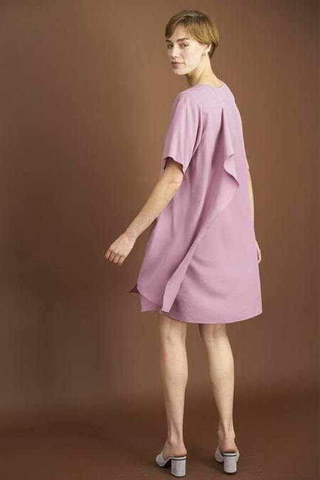 Elise Ballegeer Beate Dress - Mauve
