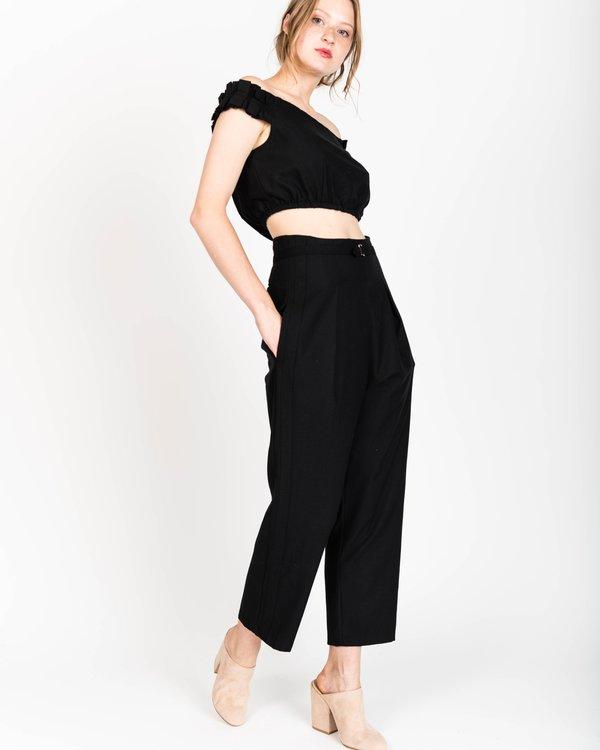 Samantha Pleet Regent wool pants