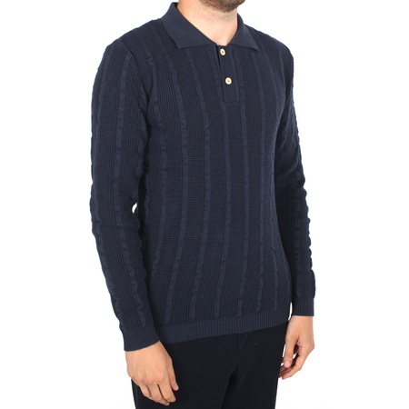 Afield Aaron Long Sleeve Polo