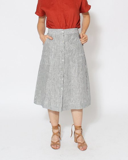 Sugar Candy Mountain Jasmine Skirt in Stripe