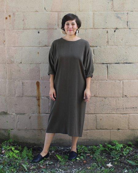 Lloyd Nineteenth Ave Dress in Olive
