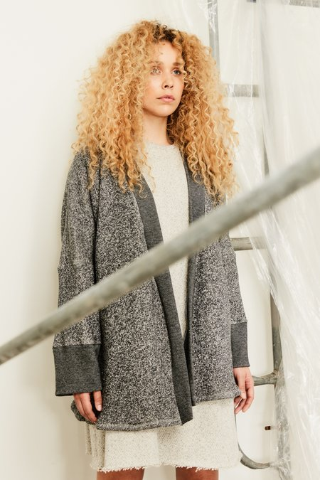 Devlyn Van Loon Curve Sweaterdress - Heather Grey