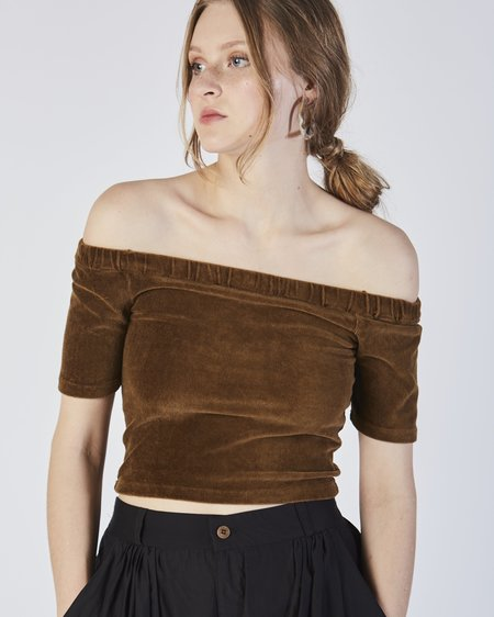 Paloma Wool Selfi cropped top