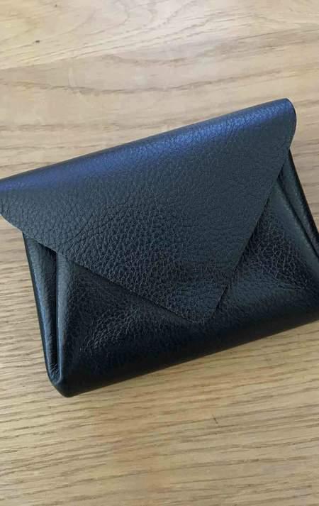 Two New York Black Carmine Wallet