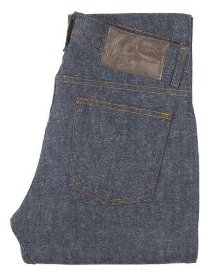 Naked And Famous WEIRD GUY BRUSHED STRETCH SELVEDGE