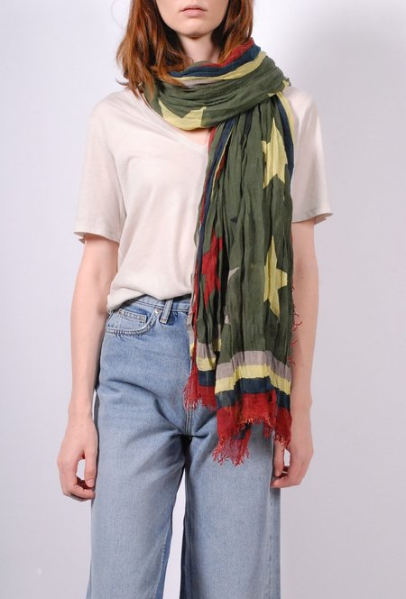 Zadig & Voltaire Delta Stars Scarf - Mousse