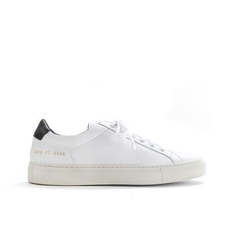 common projects achilles retro sneaker - white/black tab