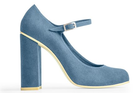 Rafa The Mary-Jane Pump – Azur