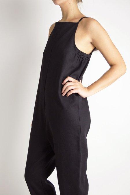 Beth Yard Jumpsuit - Black Twill
