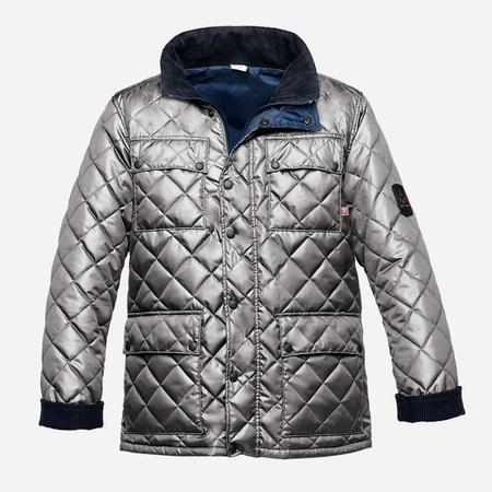 Arctic Bay London Light-Weight Jacket - Imperial Silver