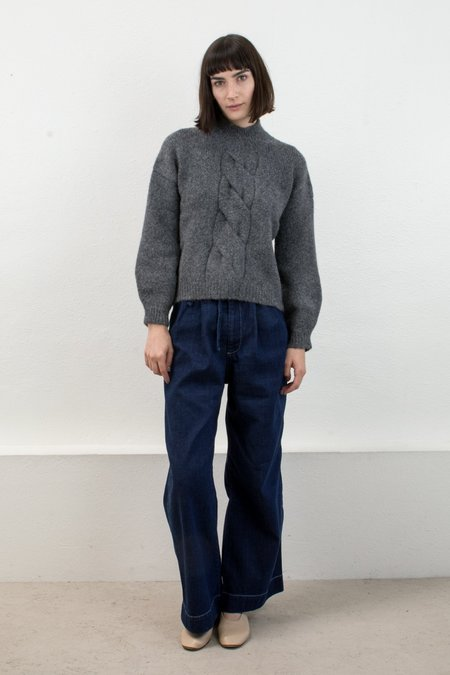 Micaela Greg Twist Cable Pullover