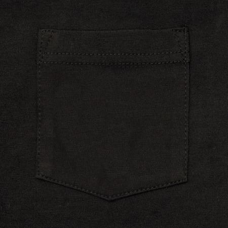 Heavyweight Pocket T-Shirt - Black