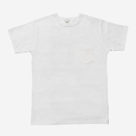 Heavyweight Pocket T-Shirt - White