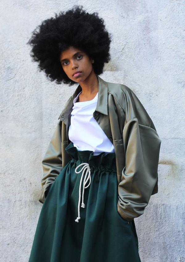 DÉSIRÉEKLEIN Doran Jacket in Japanese Nylon