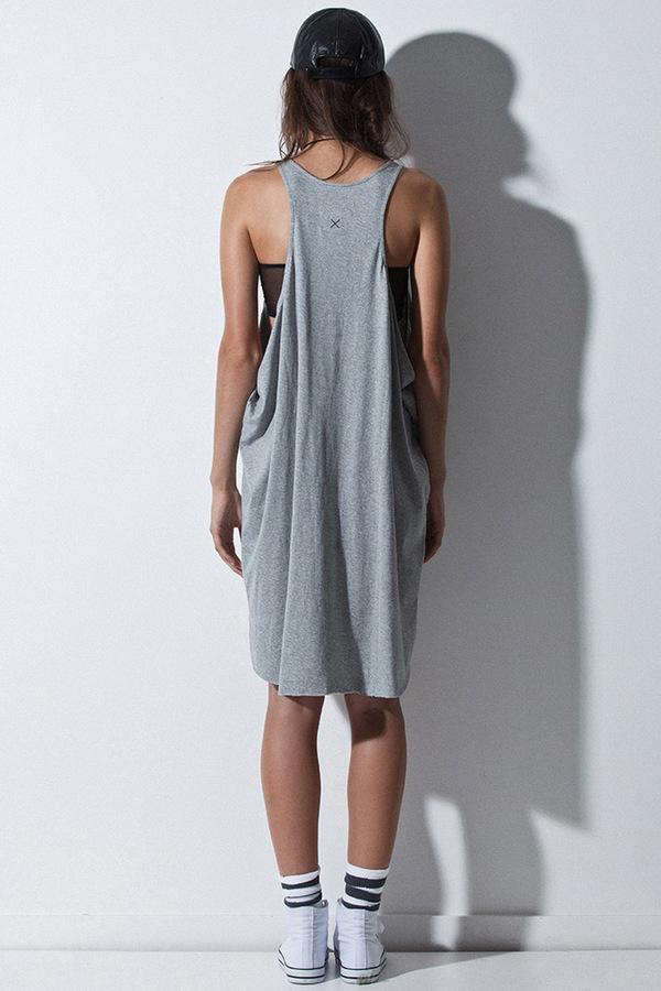 First Base Draped Dress