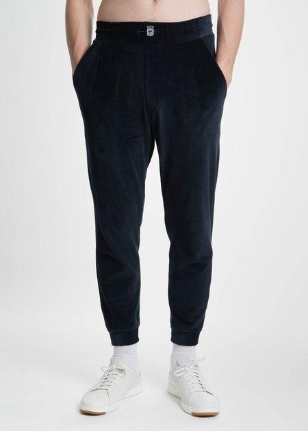 Sunnei Velour Jogging Pants - Navy