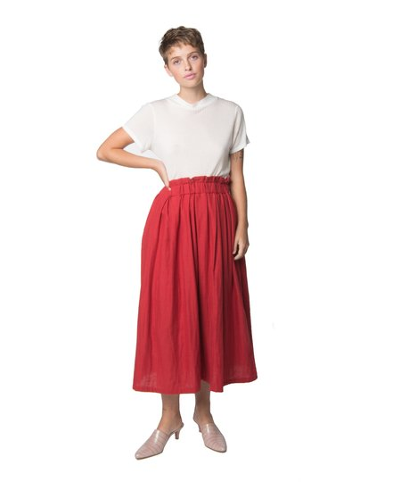 Wrk-Shp Chili Long Draft Skirt