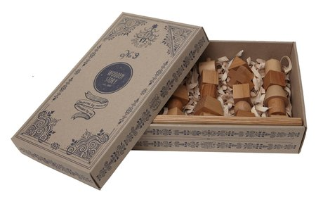 Kids Wooden Story Wooden Stacking Toy - Natural