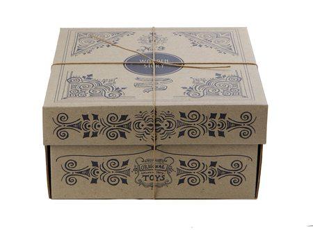 Kids Wooden Story Rainbow Wooden Shape Sorter Box