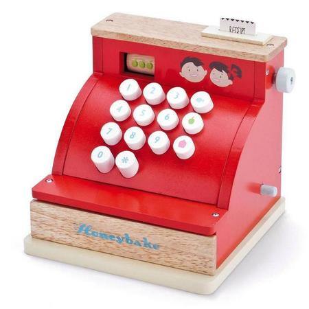 Kids Le Toy Van Wooden Honeybake Cash Register