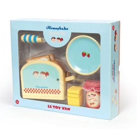 Kids Le Toy Van Wooden Toaster Set