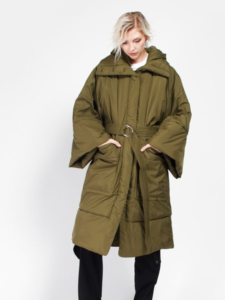 Rodebjer Constance Coat - Deep Olive