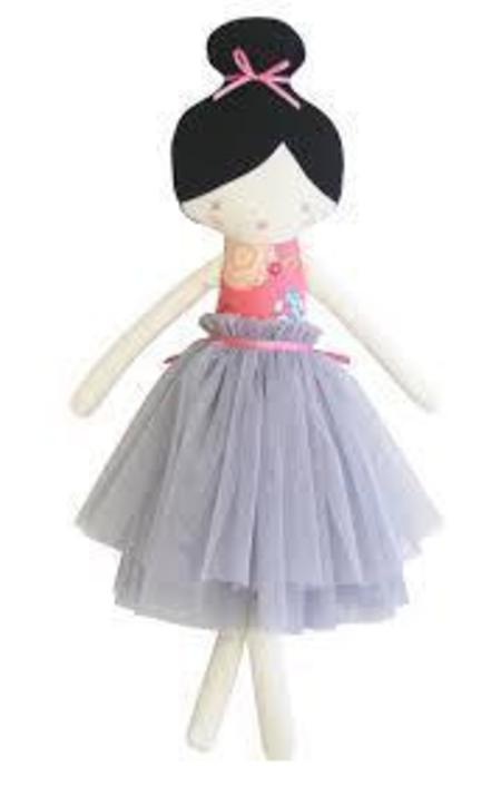 Kids Alimrose Amelie Doll in Pink and Grey