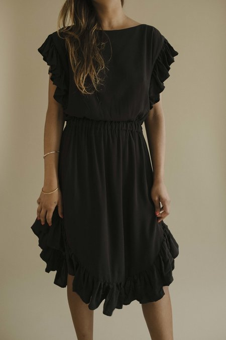 Maria Stanley The Mariposa Dress - Noir