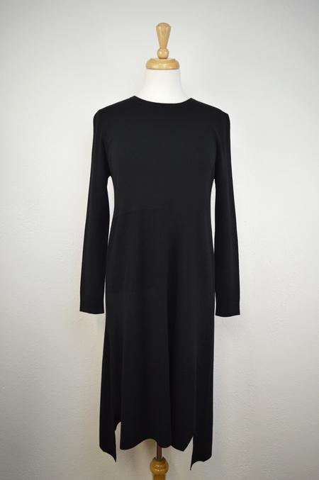 Elk Square Detail Knit Dress