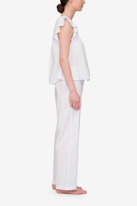 The Sleep Shirt Flounce Top and Lounge Pant Set