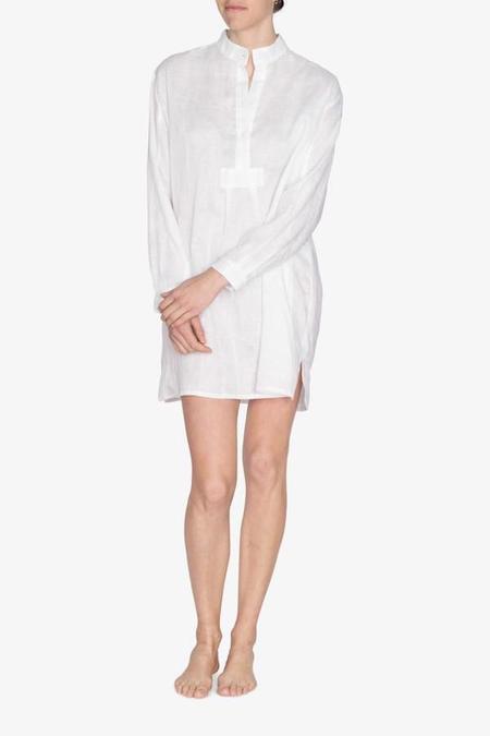 The Sleep Shirt Short Linen
