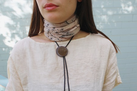 Two Hands Full Bolo Tie I