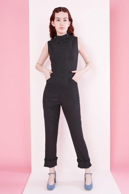 Samantha Pleet Tudor Jumpsuit - Black
