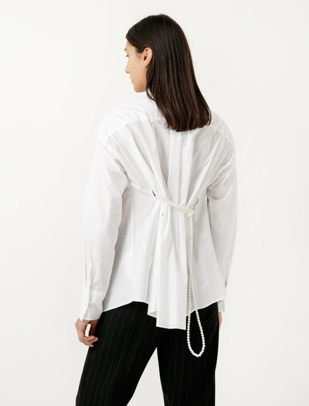 MM6 by Maison Margiela Pearl Rope Shirt