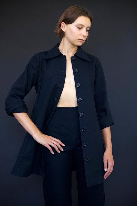 Town Clothes Roberta Coat in Black