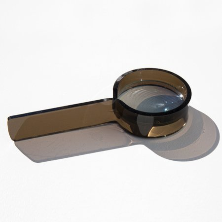 Found By Kindred Black Lucite Magnifier