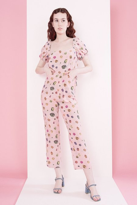 Samantha Pleet Juliet Jumpsuit - Gem
