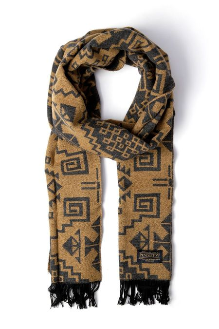 Pendleton Jacquard Scarf - Warrior Rock Tan