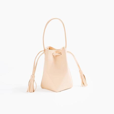 The Common Knowledge Mini Prism Bag in Nude
